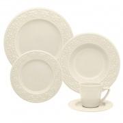 Aparelho De Jantar/Chá 30 Peças Mendi Marfim - Oxford Daily
