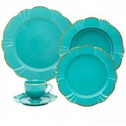 Aparelho De Jantar/Chá 30 Peças Soleil Aurora  - Oxford Porcelanas