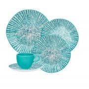 Aparelho De Jantar/Chá 42 Peças Ryo Time - Oxford Porcelanas