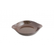 Assadeira De Cerâmica Ceraflame Com Aba 20Cm 500Ml Chocolate