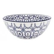 Bowl De Cerâmica 16Cm 600Ml - Floreal Náutico - Oxford Daily