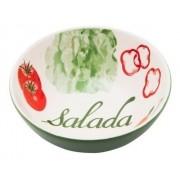 Bowl De Cerâmica 16Cm 600Ml - Temática Salada - Oxford Daily