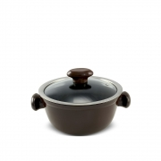 Caçarola De Cerâmica Ceraflame Chef 18Cm 1300Ml - Chocolate