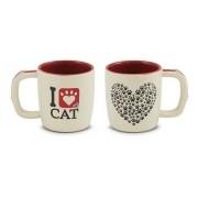 Caneca Pet I Love Cat 350Ml Ceraflame - Gato