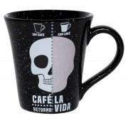 Caneca Tulipa 330Ml - Café La Vida - Preto - Oxford Daily
