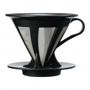 Filtro Coador De Café Cafeor Preto Tamanho 02 Hario