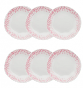 Conjunto 6 Pratos Fundos 22,5Cm Ryo Paris - Oxford Porcelanas