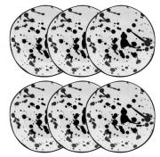 Conjunto 6 Pratos Rasos 27,5Cm Ryo Art - Oxford Porcelanas