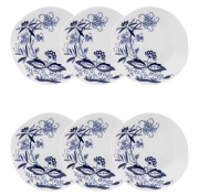 Conjunto 6 Pratos Sobremesa 21,5Cm Ryo Union - Oxford Porcelanas