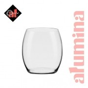 Conjunto C/06 Copos De Cristal On The Rocks 530Ml - Flow Classic - Oxford Alumina Crystal