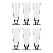 Conjunto C/06 Taças De Cristal P/ Cerveja 380Ml - Pilsner Classic - Oxford Alumina Crystal