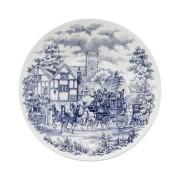 Conjunto C/ 6 Pratos Fundos 22Cm - Actual Cena Inglesa  - Oxford Biona