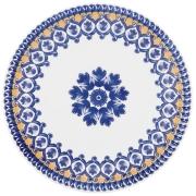 Conjunto Com 6 Pratos Rasos 26Cm - Floreal La Carreta - Oxford Daily