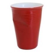 Copo De Cerâmica Plastic 240Ml Vermelho Ceraflame