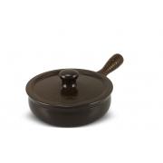 Frigideira De Cerâmica Ceraflame Premiere+ 20Cm 1500Ml Chocolate