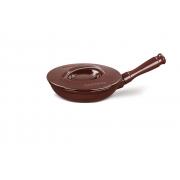 Frigideira De Cerâmica Ceraflame Duo+ 22Cm Chocolate