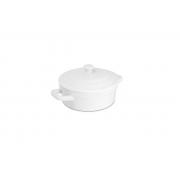 Mini Caçarola De Cerâmica Ceraflame 350Ml Branco