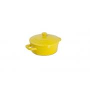 Mini Caçarola De Cerâmica Ceraflame 550Ml Amarelo