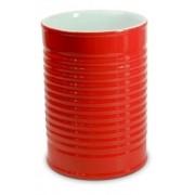 Porta Utensílios Lata De Cerâmica 1300Ml - Vermelho Ceraflame
