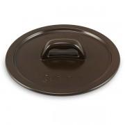 Tampa De Cerâmica Para Caçarola Ceraflame Martelada 16Cm Chocolate