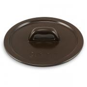 Tampa De Cerâmica Para Caçarola Ceraflame Martelada 20Cm Chocolate