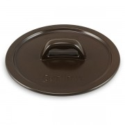 Tampa De Cerâmica Para Caçarola Ceraflame Martelada 28Cm Chocolate