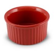 Tigela Ramequim De Cerâmica Ceraflame 10Cm Vermelha