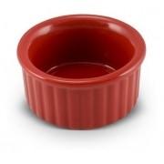 Tigela Ramequim De Cerâmica Ceraflame 6Cm Vermelha