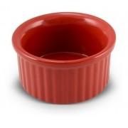 Tigela Ramequim De Cerâmica Ceraflame 8Cm Vermelha
