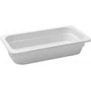 Travessa Container Retangular Em Melamina 32X17,3Cm - Branco Marfim - Oxford
