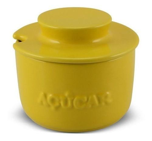 Açucareiro De Cerâmica 350GR Ceraflame Gourmet - Amarelo