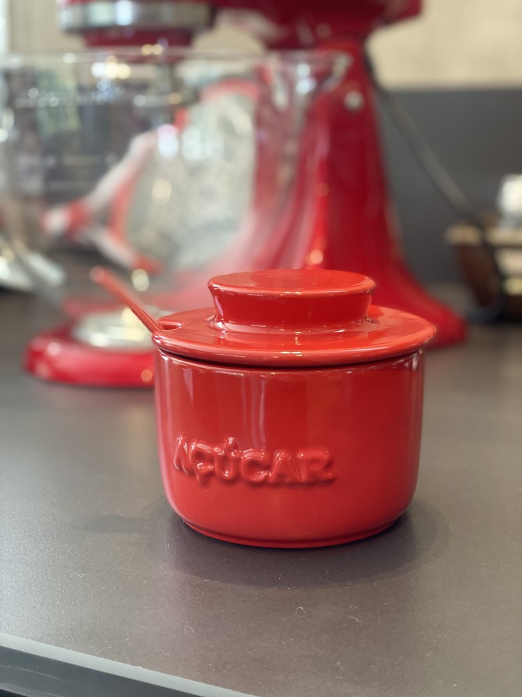 Açucareiro De Cerâmica 350GR Ceraflame Gourmet - Vermelho