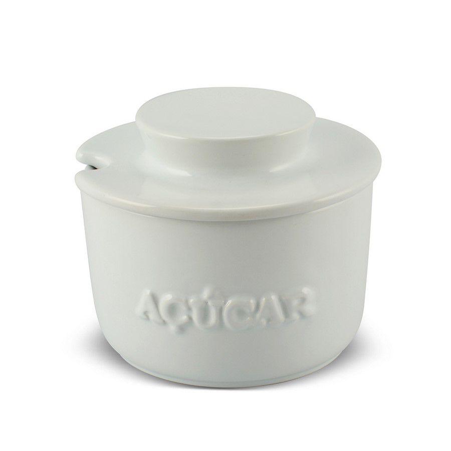 Açucareiro De Cerâmica 350GR MondoCeram Gourmet - Branco
