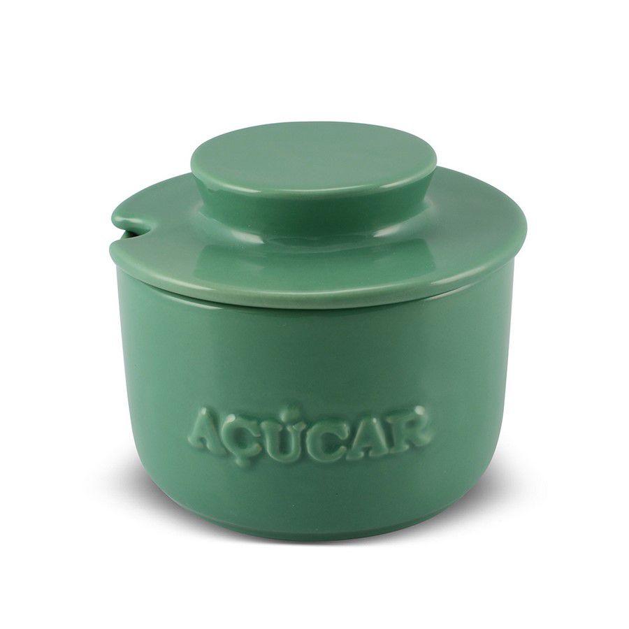 Açucareiro De Cerâmica 350GR MondoCeram Gourmet - Pistache