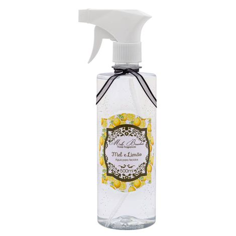 Água De Tecidos - 500Ml - Mel E Limão - Mels Brushes