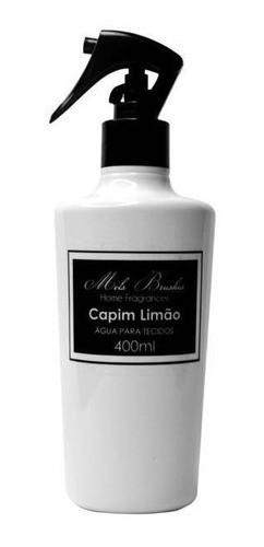 Água De Tecidos Black & White - 400Ml - Capim Limão - Mels Brushes