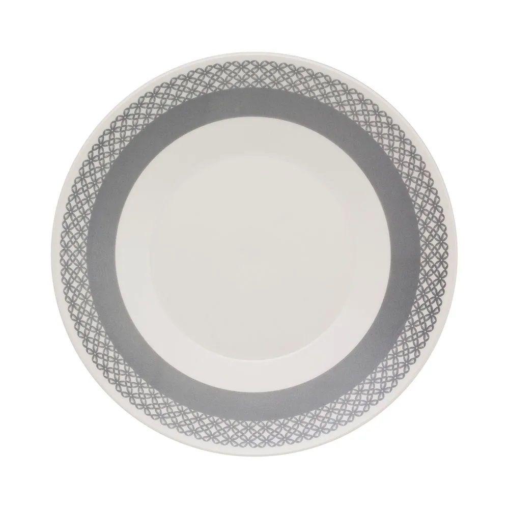 Aparelho De Jantar 30 Peças Actual Rendeira - Oxford Biona