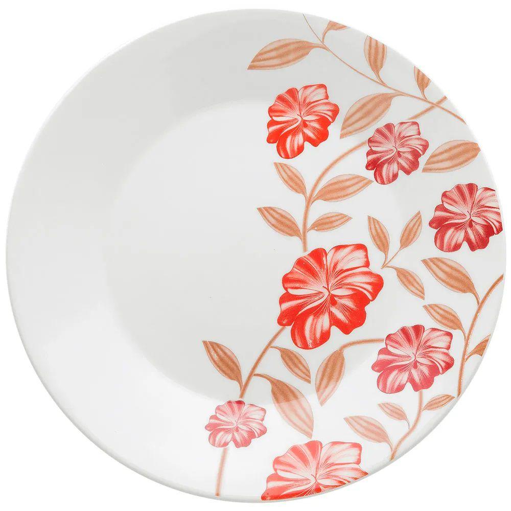 Aparelho De Jantar 30 Peças Actual  Vermelho Amor - Oxford Biona