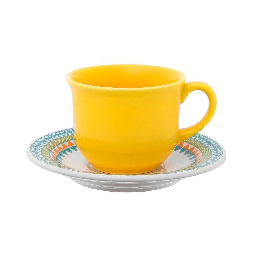 Aparelho De Jantar 30 Peças Floreal Bilro - Oxford Daily