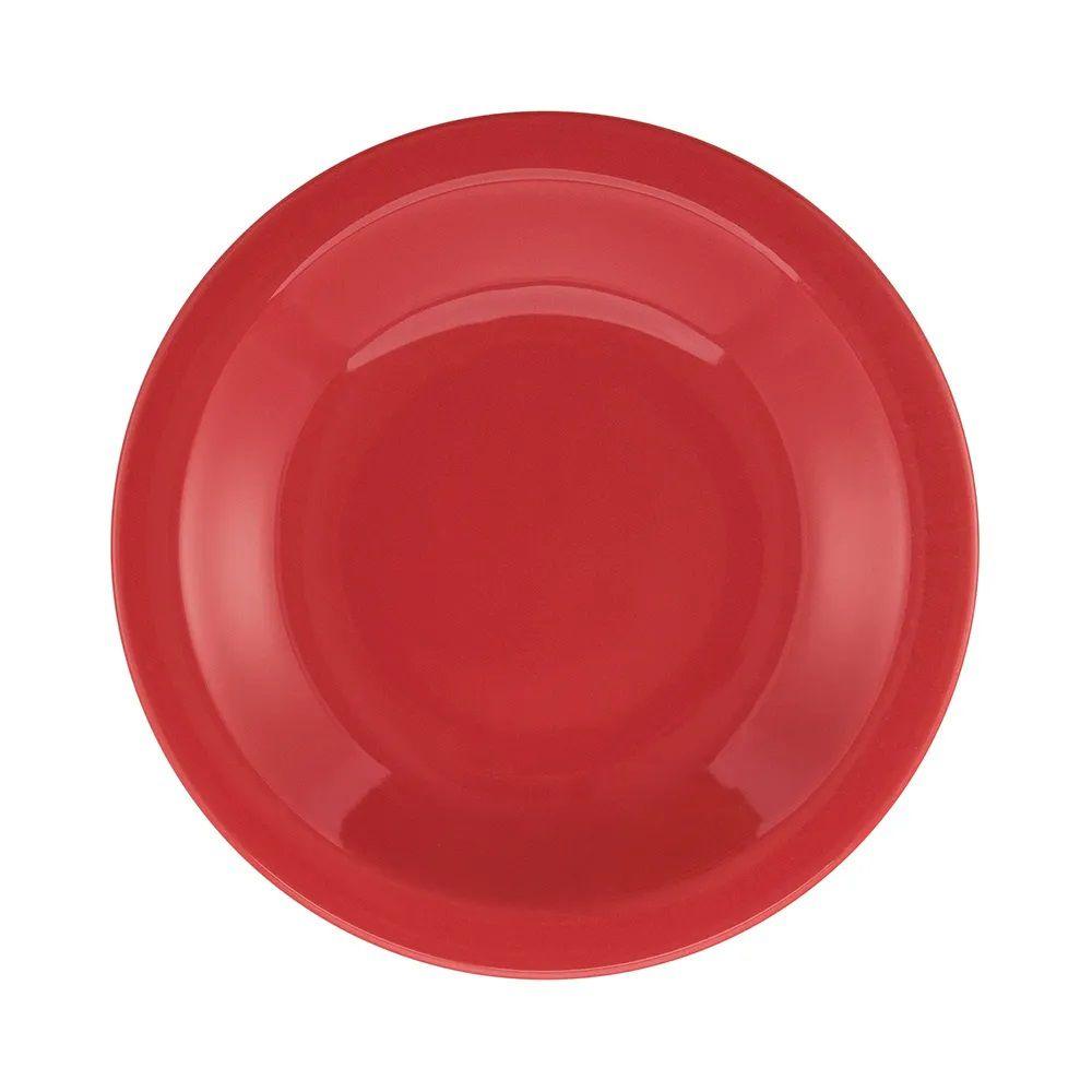 Aparelho De Jantar 30 Peças Floreal Red - Oxford Daily