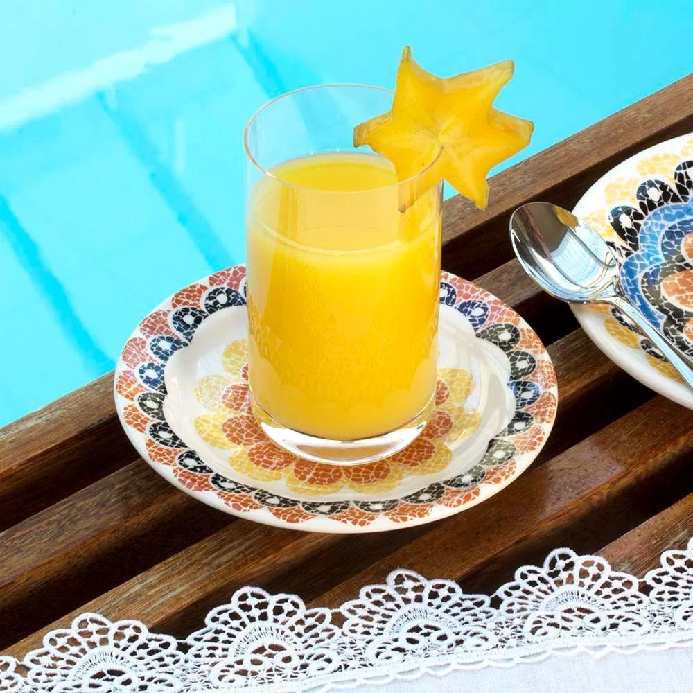 Aparelho De Jantar 30 Peças Floreal Summer - Oxford Daily