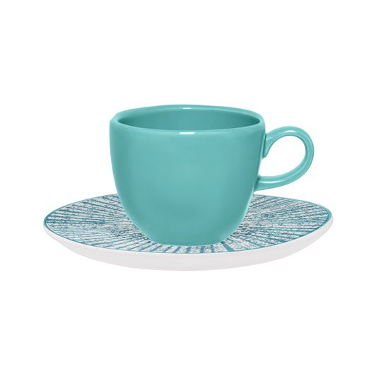 Aparelho De Jantar/Chá 20 Peças Ryo Time - Oxford Porcelanas
