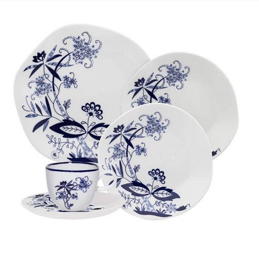 Aparelho De Jantar/Chá 30 Peças Ryo Union - Oxford Porcelanas