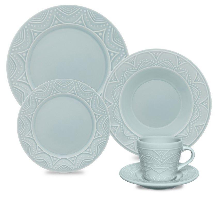 Aparelho De Jantar/Chá 30 Peças Serena Essence - Oxford Daily