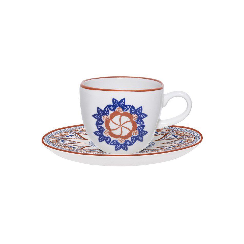 Aparelho De Jantar/Chá 42 Peças Ryo Barcelos - Oxford Porcelanas