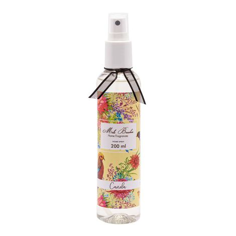 Aromatizante Spray 200 Ml - Canela - Mels Brushes