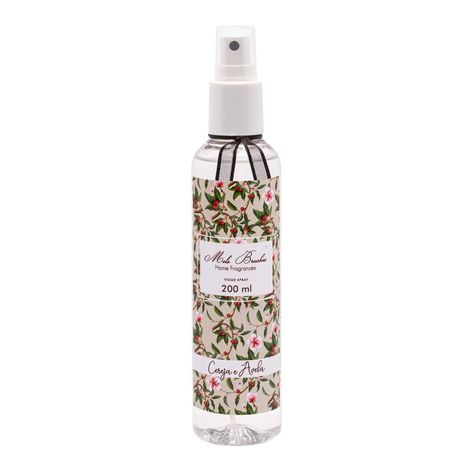 Aromatizante Spray 200 Ml - Cereja E Avelã - Mels Brushes