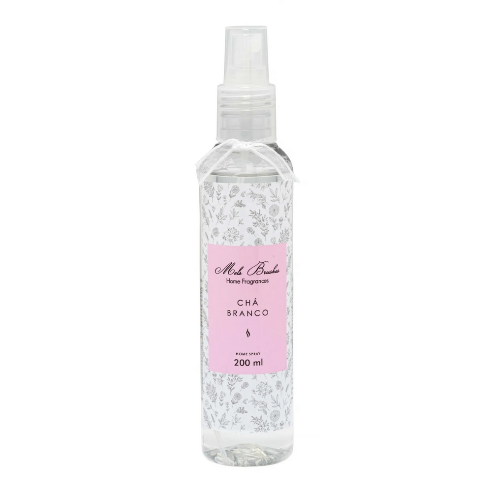 Aromatizante Spray 200 Ml - Chá Branco - Mels Brushes