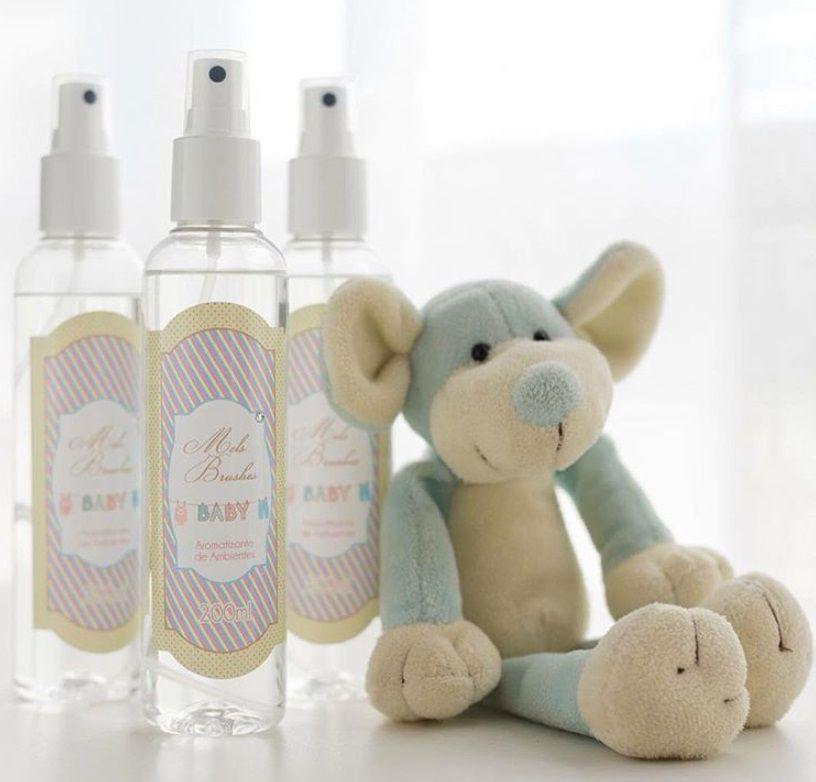 Aromatizante Spray Baby - 200Ml - Mels Brushes
