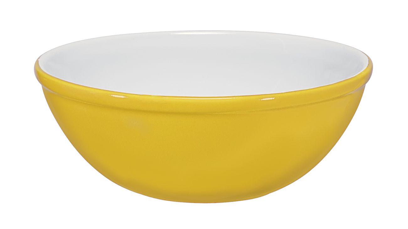 Bowl De Cerâmica Ceraflame 15Cm 400Ml  -  Amarelo